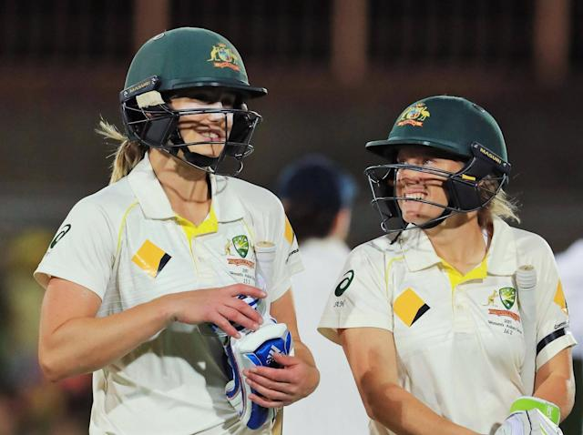 Ellyse Perry's unbeaten 70 helped Australia battle back: Getty