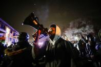 Rally days after Daunte Wright, 20, was shot and killed by former Brooklyn Center Police Officer Kim Potter, in Brooklyn Center, Minnesota