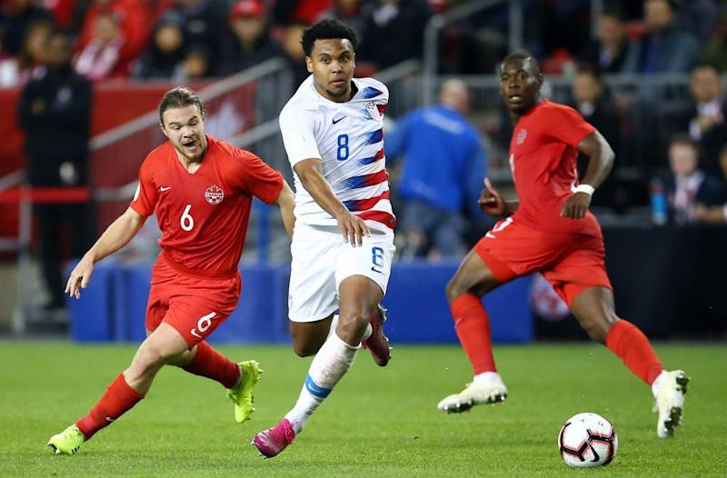 Weston McKennie is now a regular for the USMNT