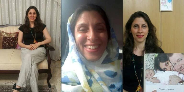 British-Iranian national Nazanin Zaghari-Ratcliffe was detained while on holiday and convicted of plotting to overthrow the regime in Tehran -- accusations she strenuously denied