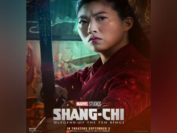 Awkwafina on the poster of 'Shang-Chi' (Image Source: Instagram)