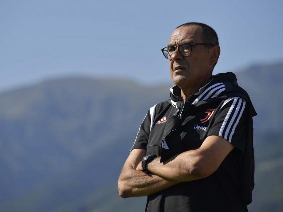 Maurizio Sarri left all of Juventus' new signings on the bench against partner (Getty)
