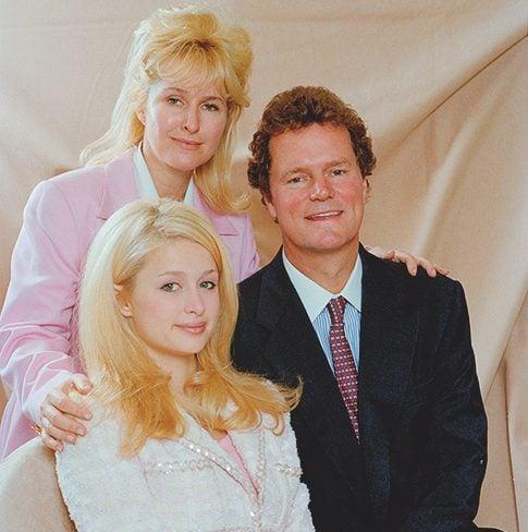 With her parents Kathy and Richard in 1996 - Getty Images