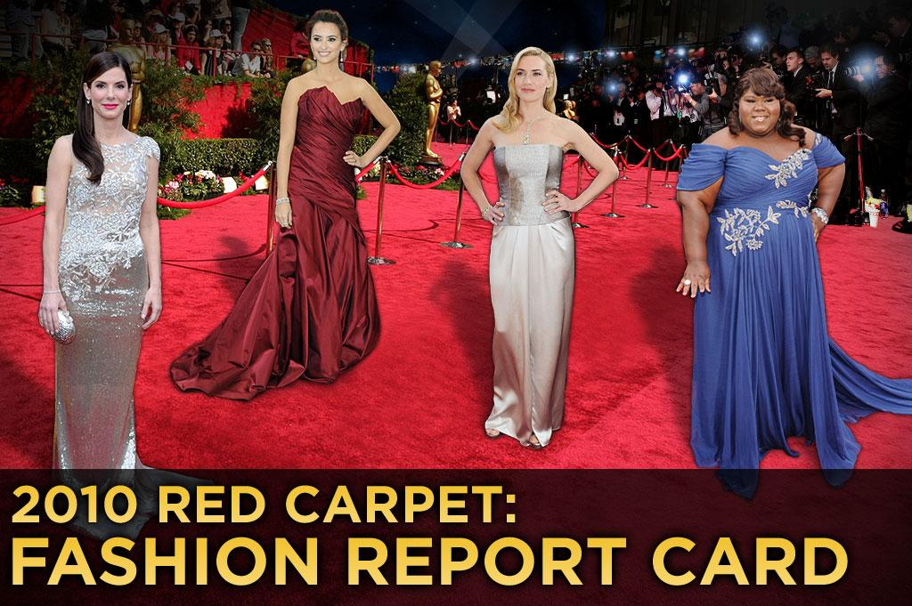 From Sandra Bullock to Miley Cyrus, take a peek at which stars made the grade and whose fashion failed at the 82nd Annual Academy Awards.