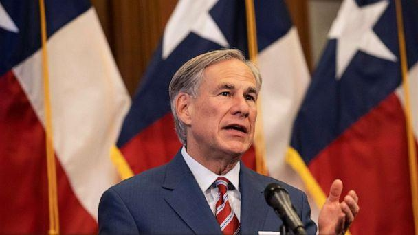 PHOTO: Texas Governor Greg Abbott speaks at a press conference in Austin. (Getty Images, FILE)
