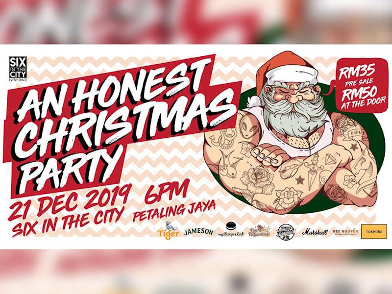 """Time for """"An Honest Christmas Party"""" with An Honest Mistake."""