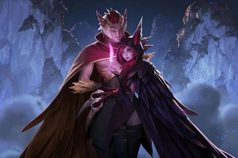 Xayah and Rakan are now playable in League of Legends (Riot Games)