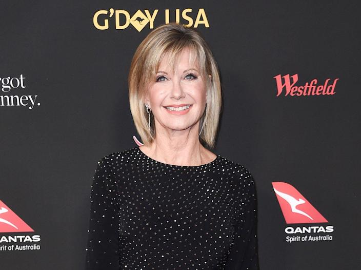 Olivia Newton-John attends the 2018 G'Day USA Los Angeles Gala at the InterContinental Hotel Los Angeles in 2018. (Photo: Richard Shotwell/Invision/AP, File)
