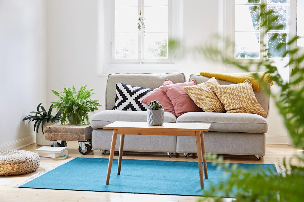 """<p><a href=""""https://www.marthastewart.com/1074409/how-clean-area-rug"""">Simply vacuuming your carpets and spot-treating stains</a> won't remove the large amount of debris, dander, and dirt that becomes embedded inside. That's why George Hernandez, the Vice President of Operations at <a href=""""https://www.puroclean.com/"""">PuroClean</a>, recommends having them professionally cleaned once a year—and even more frequently if you own pets—by a certified technician who uses a hot water extraction method. Doing so will also """"help improve the air quality within your home,"""" he says.</p>"""