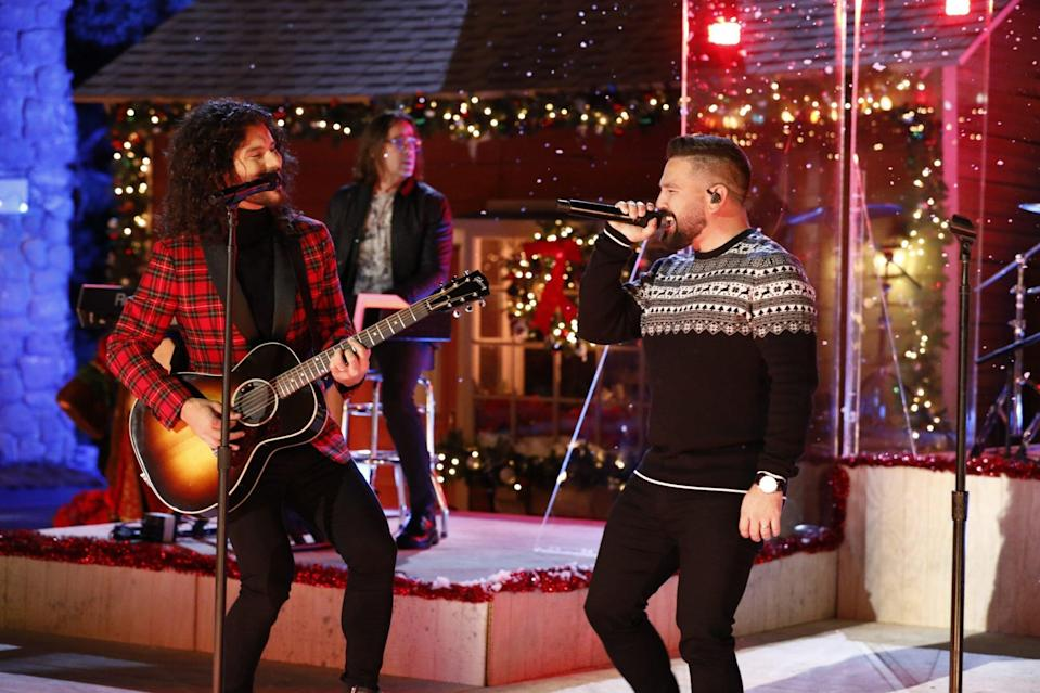 """Dan and Shay on """"The Voice"""""""