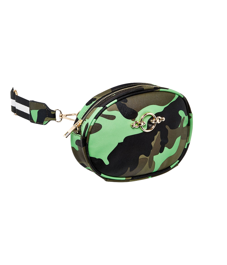 Ashley Stewart Camo Print Belt Bag (Photo: Amazon)