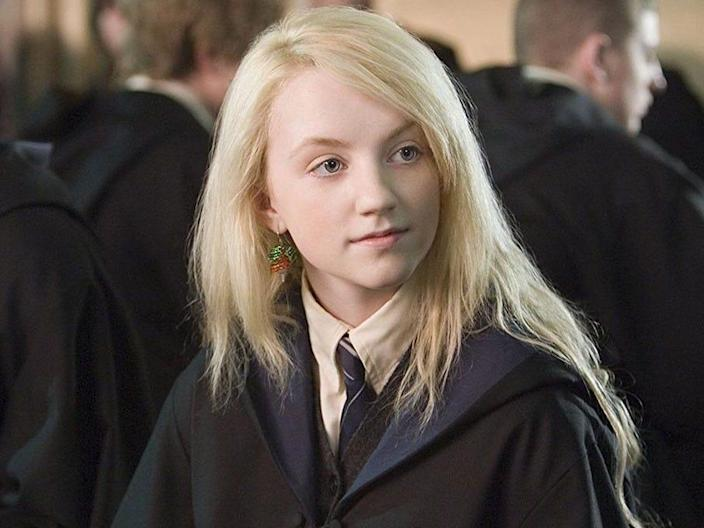 luna lovegood evanna lynch harry potter