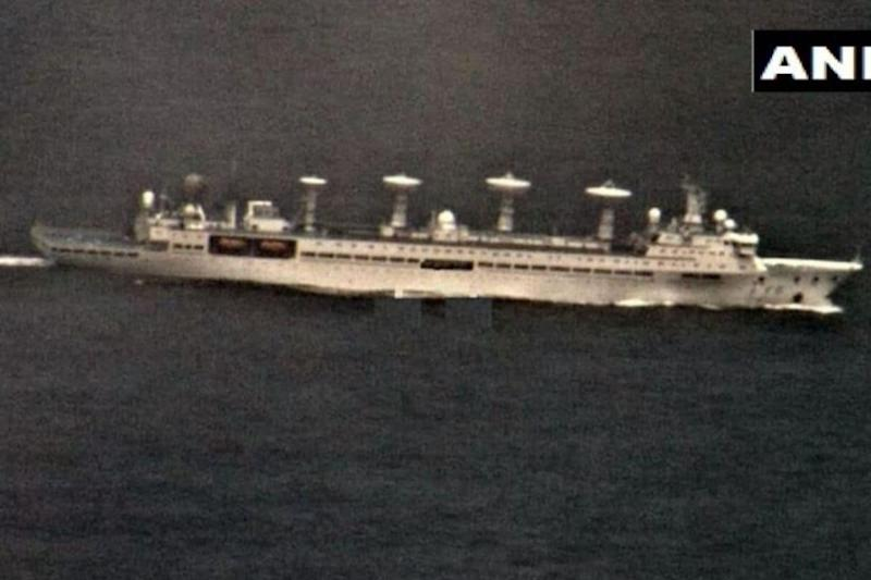 Chinese Research Vessel Entered Indian Ocean Last Month, Left After Constant Watch from Navy: Report