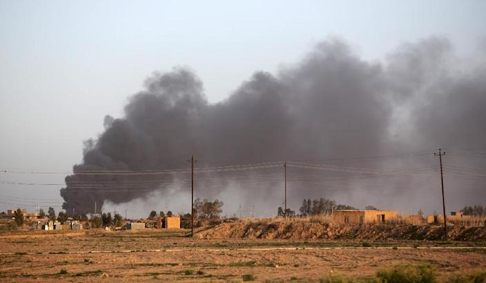 Iraqi forces spent the first days of the operation clearing outlying areas and are now closing in on Tikrit itself, as well as the towns of Al-Alam and Ad-Dawr (AFP Photo/Ahmad Al-Rubaye)