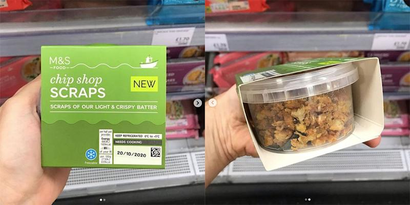 M&S Is Selling Pots Of Chip Shop Scraps And We're Not Sure How To Feel