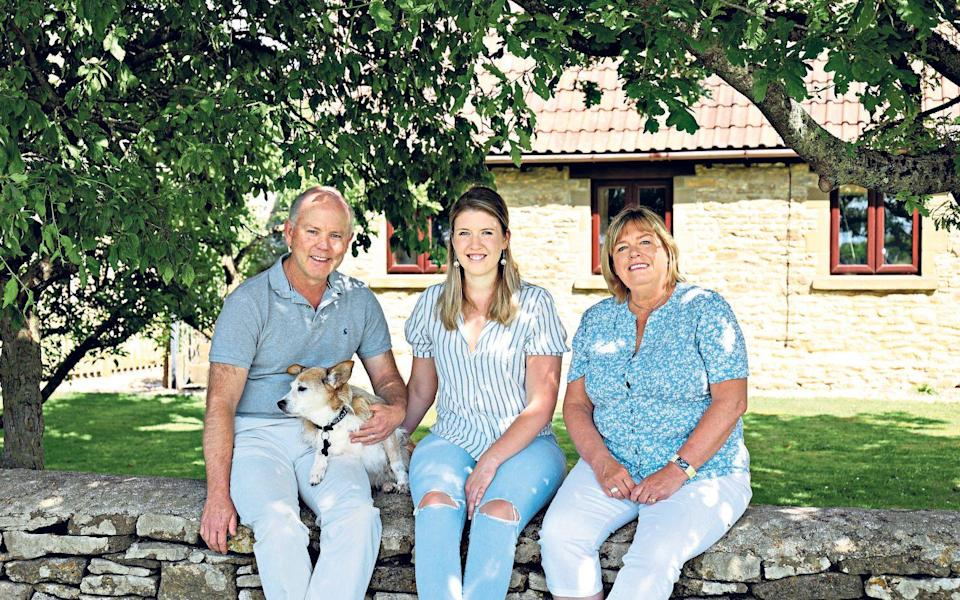Go West: Val Proctor and family moved from moved from Suffolk to the Cotswolds - John Lawrence
