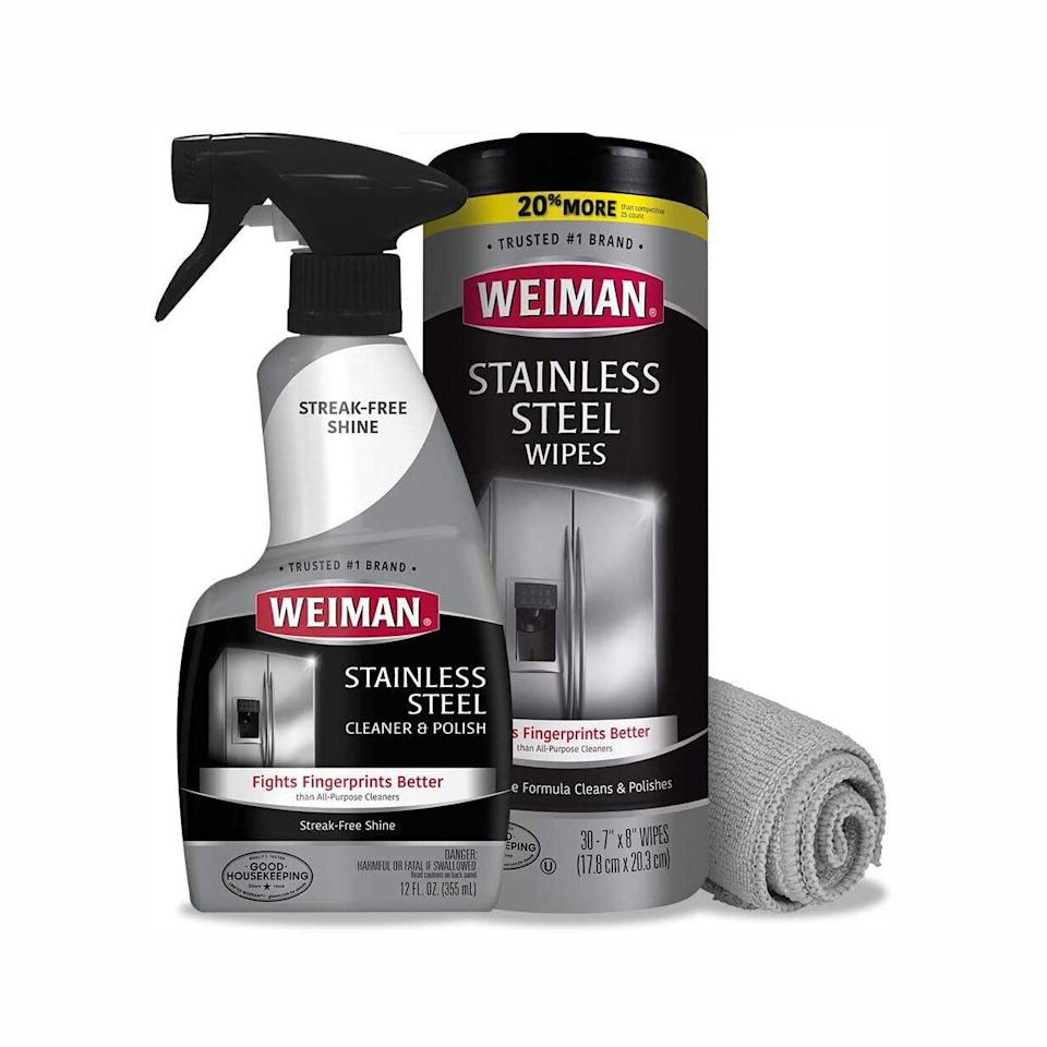 weiman stainless steel cleaner