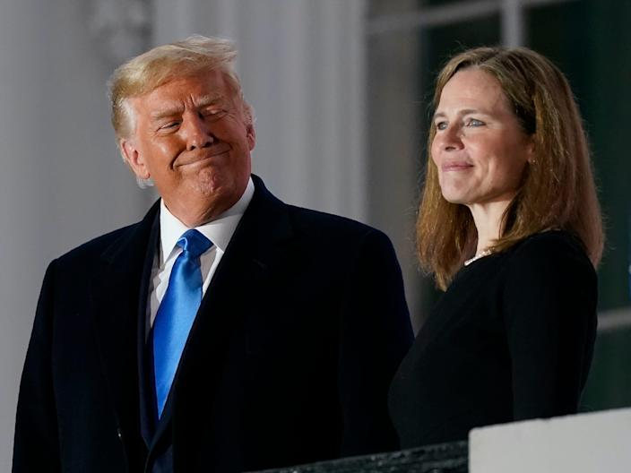 amy coney barrett trump white house ceremony