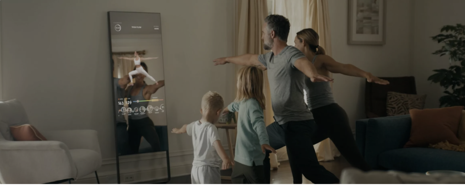 In June 2020, Lululemon made its first-ever acquisition when it bought the at-home fitness equipment maker Mirror for $500 million. (Lululemon)