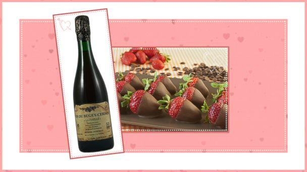 PHOTO: Chocolate and Wine Pairings for Valentines Day: Pair 2 (ABC News Photo Illustration)