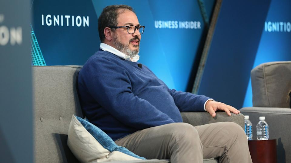 NEW YORK, NY - NOVEMBER 30:  Miguel Patricio, CMO of Anheuser-Busch InBev, speaks onstage at IGNITION: Future of Media at Time Warner Center on November 30, 2017 in New York City.
