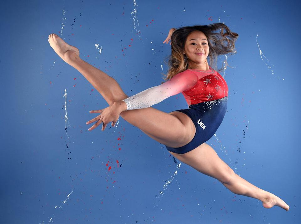 """<p>The St. Paul native, 18, <a href=""""https://people.com/sports/tokyo-olympics-sunisa-lee-first-hmong-american-olympic-gymnast-achieving-her-dream/"""" rel=""""nofollow noopener"""" target=""""_blank"""" data-ylk=""""slk:is making history"""" class=""""link rapid-noclick-resp"""">is making history</a> in Tokyo as the first Hmong American Olympic gymnast. """"It's surreal to say I'm an Olympian now,"""" Lee, who helped the U.S. team win gold at the 2019 world championships, told the <em>Star Tribune.</em> """"I've been working toward this for so long.""""</p>"""