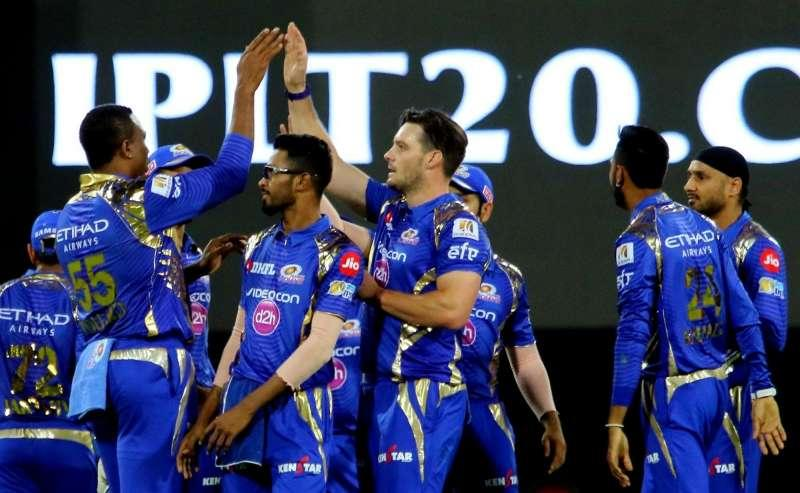 Mumbai Indians chased down the target of 199 in just 15.3 overs.