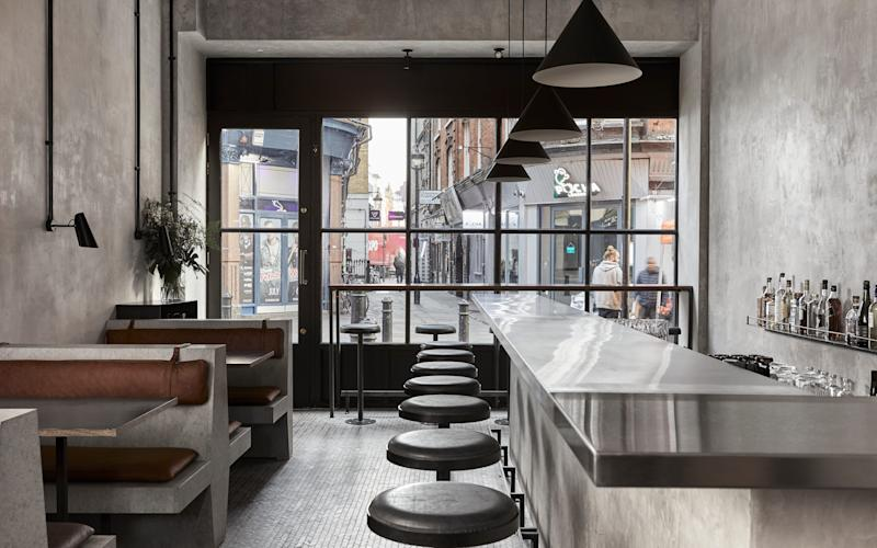 Our critic finds a slice of paradise in Soho, London - John Neate