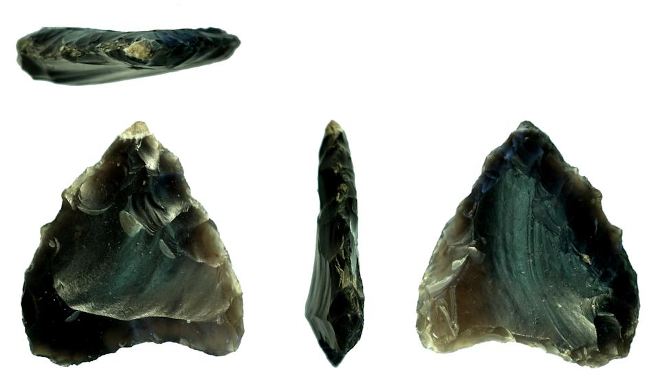 Neolithic arrowheads were discovered (Surrey County Council/PA)