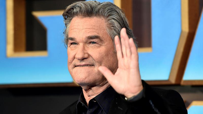 A Photo Of Kurt Russell Napping Is Melting People's Minds