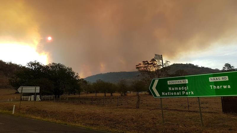 Canberra fire now more than 8000 hectares
