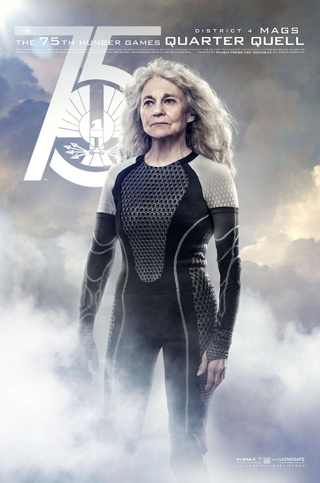 "Lynn Cohen as Mags in Lionsgate's ""The Hunger Games: Catching Fire"" - 2013"