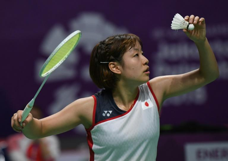 Nozomi Okuhara led Japan to victory against China in the women's team badminton final