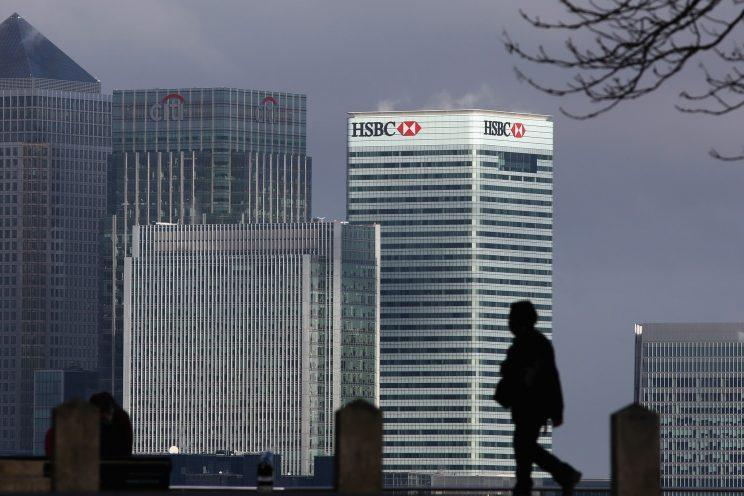 HSBC has said its headquarters will remain in London but it could move about 20 per cent of trading operations to Paris (Dan Kitwood/Getty Images)