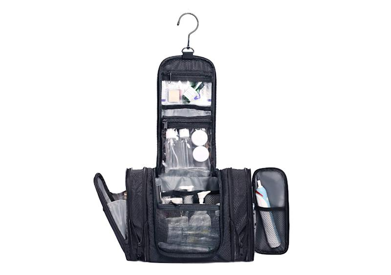 Expandable Hanging Toiletry Bag. (Photo: Amazon)