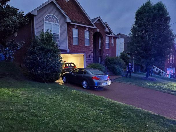 PHOTO: Officer Brian Sherman is being treated for gunshot wounds to his left arm, according to police, after answering a call at 7220 Sugarloaf Dr in Nashville, Tenn., May 4, 2021.  (Metro Nashville Police Dept.)