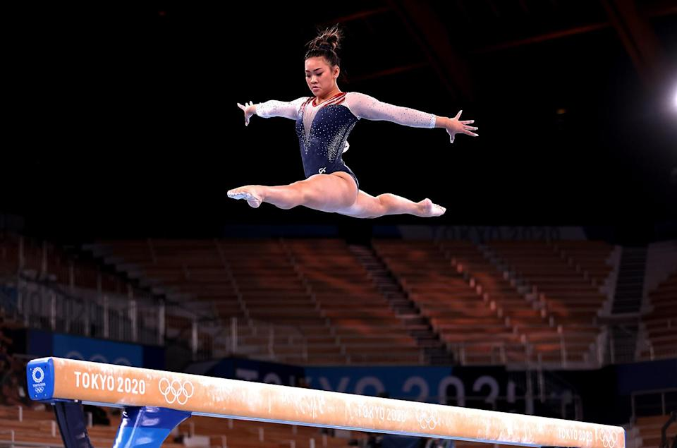 """<p>She also knows that her being at the Games """"means a lot to the Hmong community ... and to just <a href=""""https://people.com/sports/tokyo-olympics-sunisa-lee-first-hmong-american-olympic-gymnast-achieving-her-dream/"""" rel=""""nofollow noopener"""" target=""""_blank"""" data-ylk=""""slk:be an inspiration to other Hmong people"""" class=""""link rapid-noclick-resp"""">be an inspiration to other Hmong people</a> [means] a lot to me too.""""</p>"""