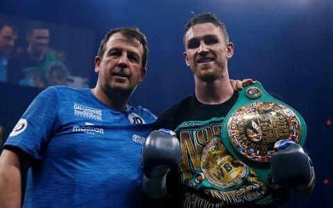 Callum Smith defeats Nieky Holzken to set up George Groves World Boxing Series final