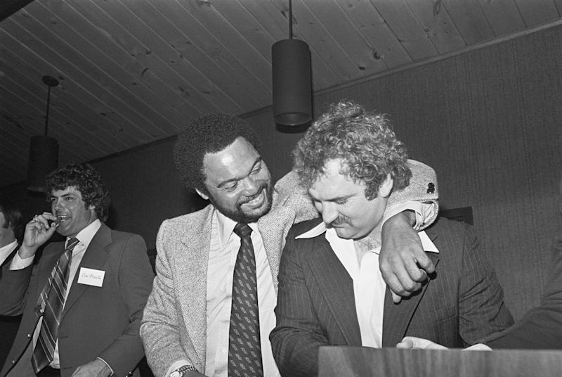 Reggie Jackson and Thurman Munson had a fiery relationship, but underneath it all was respect. (Getty)