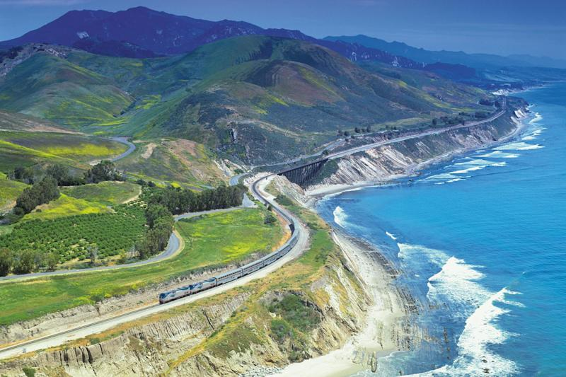 The Amtrak Coast Starlight: Amtrak