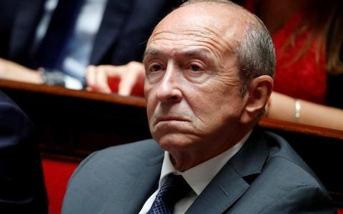 French Interior Minister Gerard Collomb attends the questions to the government session at the National Assembly in Paris - Credit:  Gonzalo Fuentes/ REUTERS