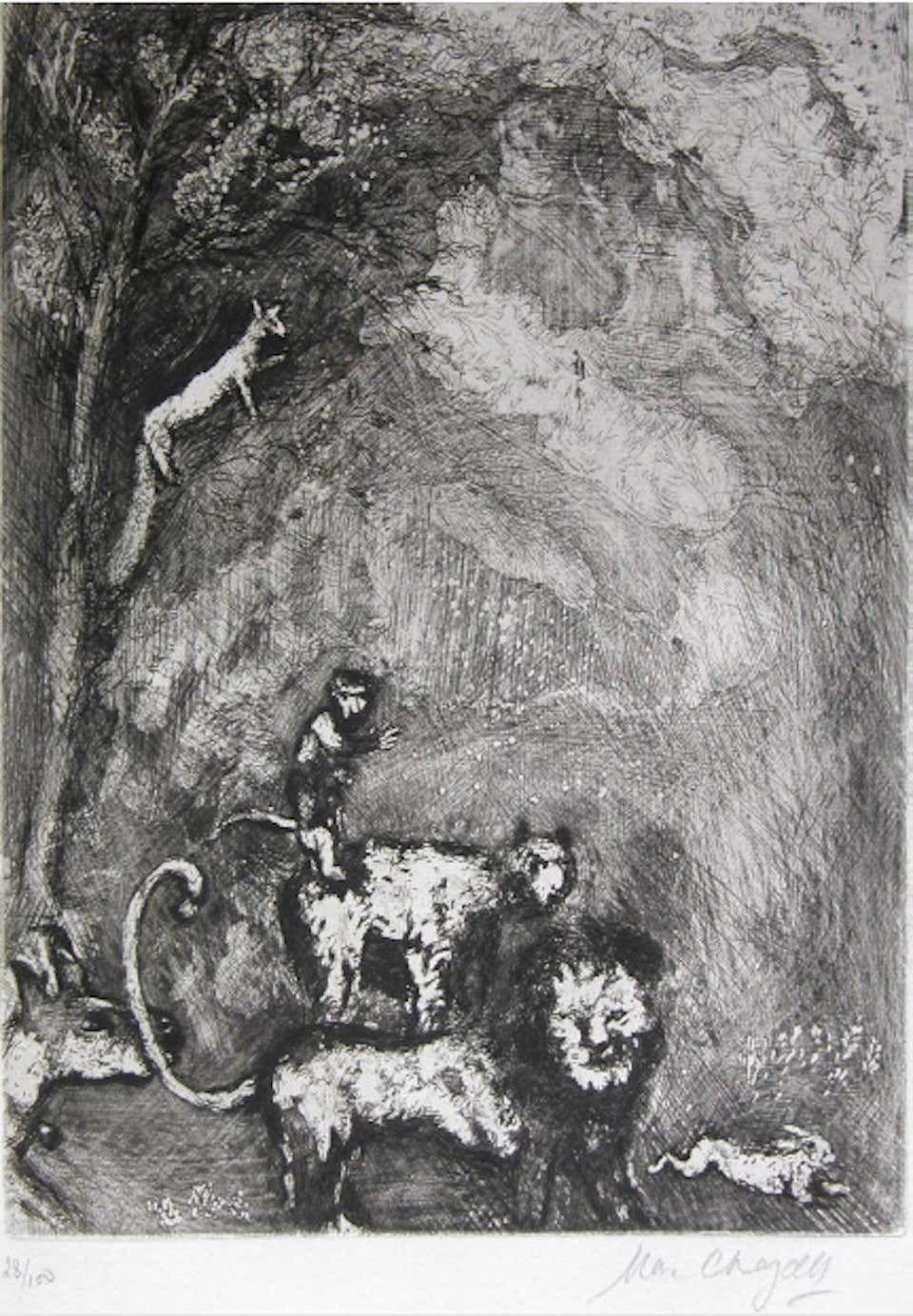 """<p><strong>Marc Chagall</strong></p><p>1stdibs.com</p><p><strong>$3110.50</strong></p><p><a href=""""https://go.redirectingat.com?id=74968X1596630&url=https%3A%2F%2Fwww.1stdibs.com%2Fart%2Fmore-art%2Fmarc-chagall-le-lion-sen-allant-en-guerre-original-etching-marc-chagall-1927-30%2Fid-a_4184541%2F&sref=https%3A%2F%2Fwww.townandcountrymag.com%2Fstyle%2Fcollectibles%2Fg34288980%2Fwhat-to-buy-1stdibs-fall-2020-sale%2F"""" rel=""""nofollow noopener"""" target=""""_blank"""" data-ylk=""""slk:Shop Now"""" class=""""link rapid-noclick-resp"""">Shop Now</a></p><p>Etchings and lithographs are one way to collect an artist you love without paying the premium that comes with paintings. </p>"""