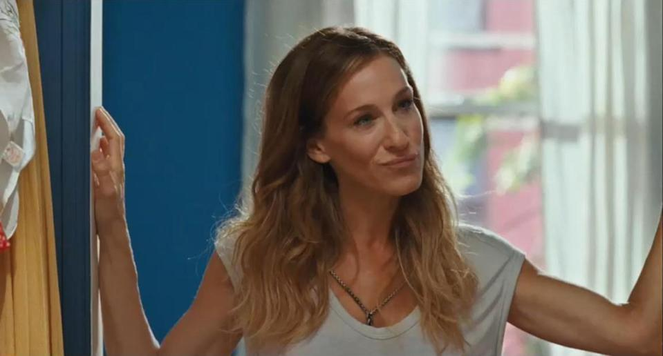 """Sarah Jessica Parker als Carrie Bradshaw in """"Sex and the City"""". (Bild: ddp)"""