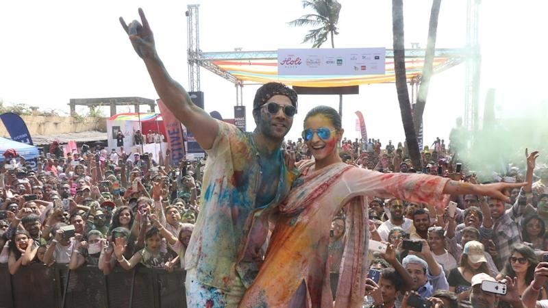 Inside Pictures of the Alia-Varun's 'Badri' Holi Celebrations
