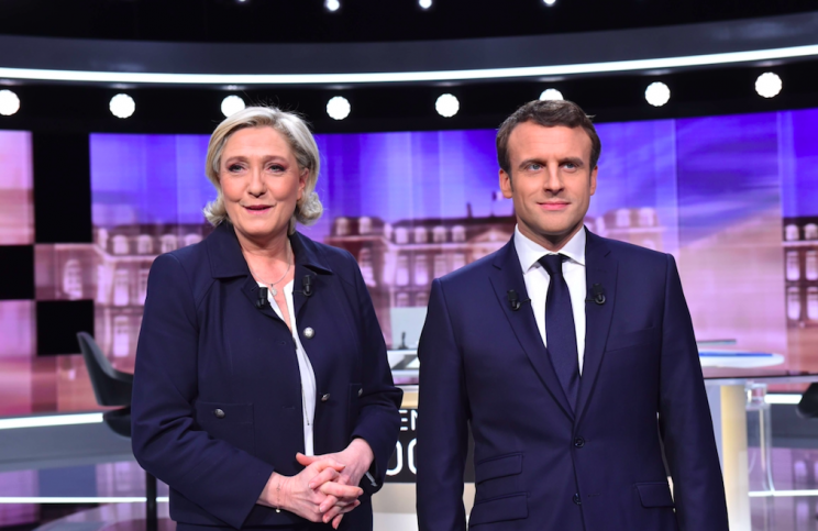 Ms Le Pen is expected to lose the election to Emmanuel Macron (Rex)
