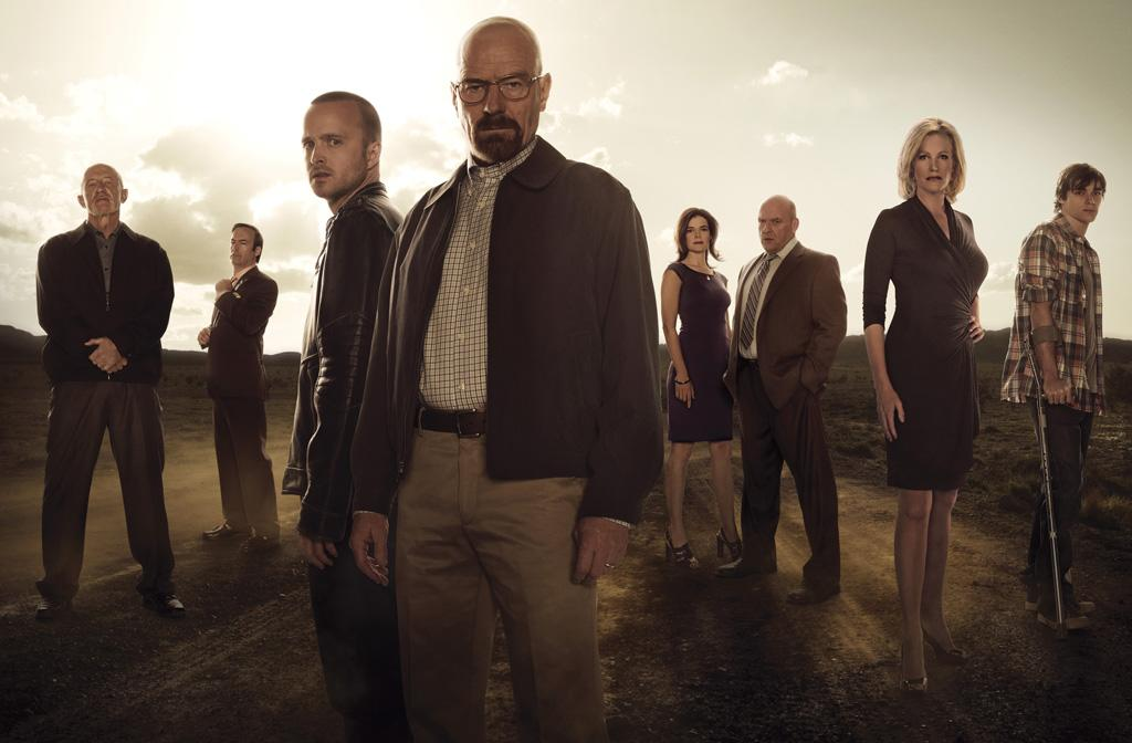 "The cast of ""Breaking Bad."""