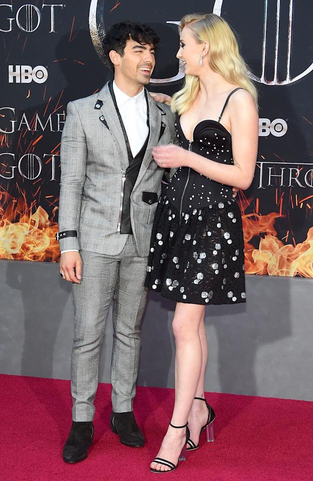 """After the 2019 Billboard Music Awards in Las Vegas on May 1,<a href=""""https://people.com/music/joe-jonas-sophie-turner-married-surprise-vegas-ceremony/"""">the stars surprised everyone</a>by saying """"I do"""" at Chapel L'Amour inside A Little White Wedding Chapel. The singer's brothers were in attendance, an Elvis impersonator officiated, Dan + Shay performed and Diplo shared the whole thing on Instagram Live.  Jonas had previous told James Corden the pair was planning a summer 2019 wedding in France."""