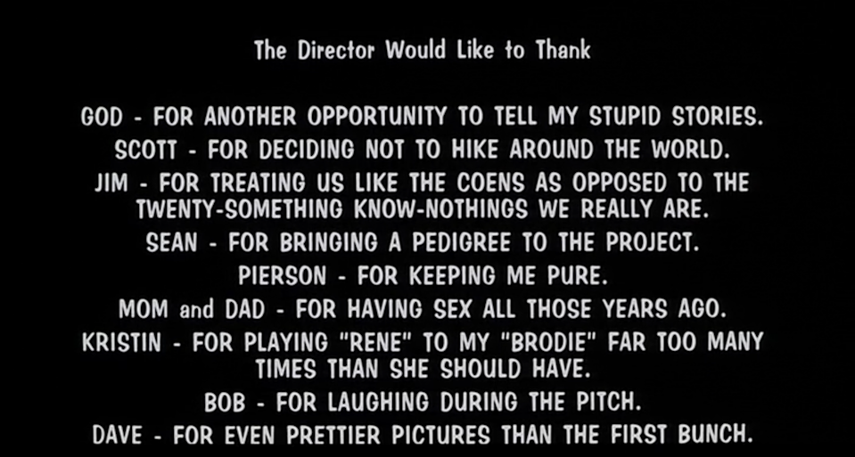 still from thank you page from mallrats movie