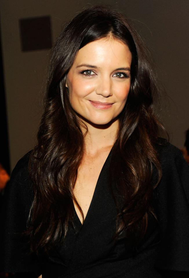 Katie Holmes attend The Museum of Modern Art 5th annual Film Benefit honoring Quentin Tarantino at MOMA on December 3, 2012 in New York City.