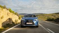 First Drive: The Lexus UX 300e is a classy, quality electric crossover